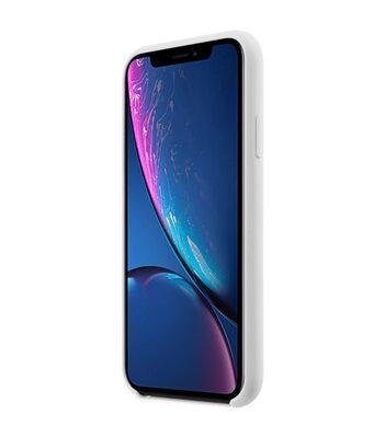 "Melkco Aqua Silicone Case for Apple iPhone XR (6.1"") - ( White )"