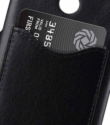 Melkco Premium Leather Card Slot Back Cover Case for Nokia 8 Sirocco - (Black) Ver.2