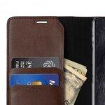Melkco Fashion Cocktail Series Premium Leather Slim Flip Type Case for Samsung Galaxy Note 9 - ( Brown )