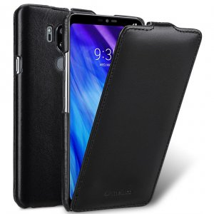 Melkco Premium Leather Case for LG G7 ThinQ / G7+ ThinQ - Jacka Type (Black)