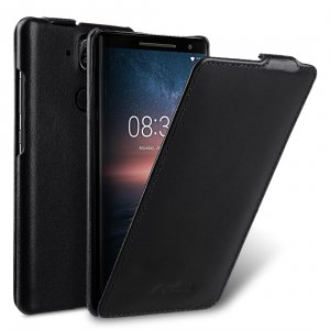 Melkco Premium Leather Case for Nokia 8 Sirocco - Jacka Type (Black)
