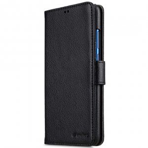Melkco PU Leather Wallet Book Type Case for Huawei Honor 8X - (Black LC PU)