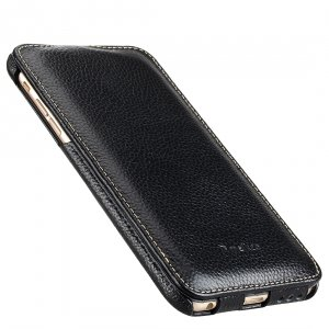"Melkco Premium Leather Cases for Apple iPhone 6 (5.5"") - Jacka Type (Black LC)"