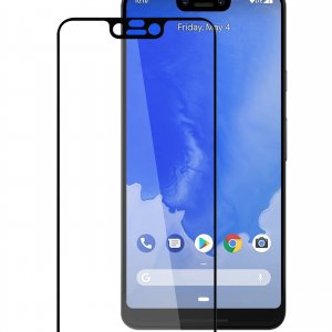 Melkco 3D Curvy 9H Tempered Glass Screen Protector for Google Pixel 3 XL - ( Black )