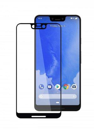 Melkco 3D Curvy 9H Tempered Glass Screen Protector for Google Pixel 3 XL - ( Black )