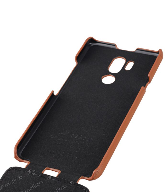 Melkco Premium Leather Case for LG G7 ThinQ / G7+ ThinQ - Jacka Type (Brown CH)