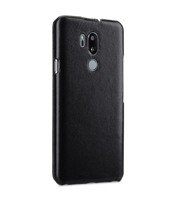 Melkco Premium Leather Case for LG G7 ThinQ / G7+ ThinQ - Jacka Type (Black)