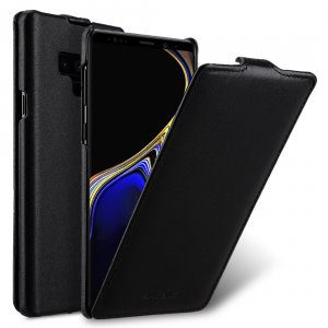 Melkco Premium Leather Jacka Type Case for Samsung Galaxy Note 9 - Jacka Type (Black)