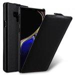 Melkco Premium Leather Jacka Type Case for Samsung Galaxy Note 9 - Jacka Type (Black)