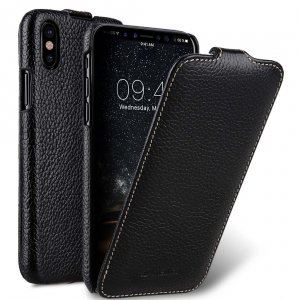 Premium Leather Jacka Type Case for Apple iPhone X / XS