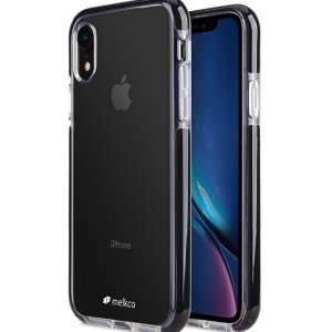"Melkco Clear Supreme Guard Case for Apple iPhone XR (6.1"") - ( Transparent / Black )"
