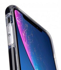 "Melkco Clear Supreme Guard Case for Apple iPhone XR (6.1"") - ( Transparent / Black )"