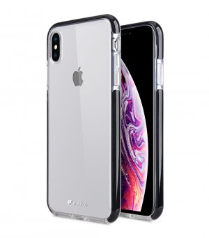 "Melkco Clear Supreme Guard Case for Apple iPhone XS Max (6.5"") - ( Transparent / Black )"