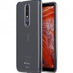 Melkco UltraThin Series Air Superlim TPU Case for Nokia 3.1 Plus - ( Transparent )