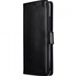 Melkco PU Leather Wallet Book Clear Type Case for Huawei Mate 20 Pro - (Black)