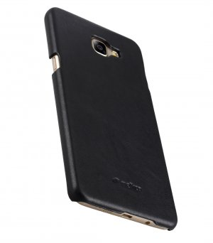 Melkco Premium Genuine Leather Snap Cover For Samsung Galaxy A9 Pro (2016) (Traditional Vintage Black)