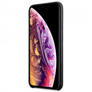 Melkco Premium Leather Coaming Snap Cover Case for Apple iPhone XS Max - (Black WF)