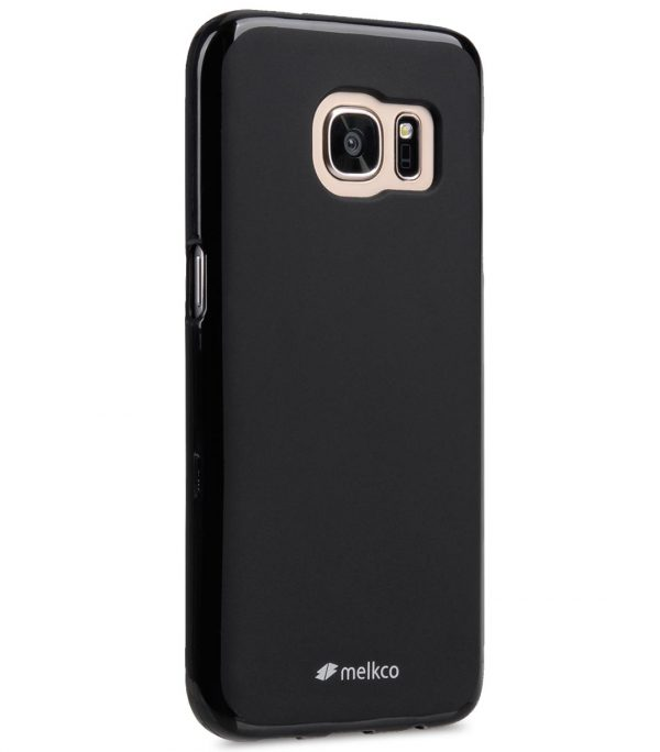 Melkco Polyjacket TPU case for Samsung Galaxy S7 - Black Mat