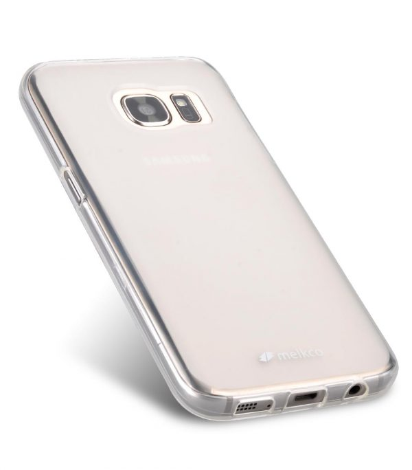 Melkco Polyjacket TPU case for Samsung Galaxy S7 - Transparent Mat