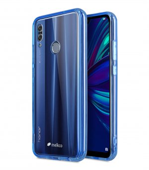 Melkco TPU / PC PolyUltima Case for Huawei P Smart (2019) - ( Transparent Blue )