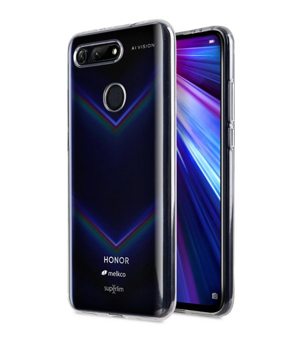Melkco UltraThin Series Air Superlim TPU Case for Huawei Honor View 20 - ( Transparent )