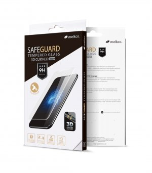 Melkco 3D Curvy 9H Tempered Glass Screen Protector for Huawei P30 Pro - ( Black )
