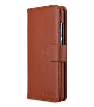 Melkco Alphard Series Premium Leather Alphard Type Case for Huawei P30 - ( Orange Brown )