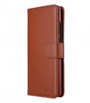 Melkco Alphard Series Premium Leather Alphard Type Case for Huawei P30 Pro - ( Orange Brown )