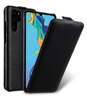 Premium Leather Jacka Type Case for Huawei P30 Pro
