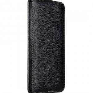 Melkco Jacka Series Lai Chee Pattern Premium Leather Jacka Type Case for Huawei P30 Pro - ( Black LC )