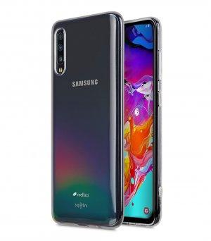 Melkco UltraThin Series Air Superlim TPU Case for Samsung Galaxy A70 - ( Transparent )