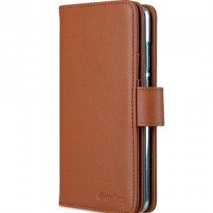 Melkco Wallet Book Series Crazy Horse Premium Leather Wallet Plus Book Type Case for Huawei P30 - ( Brown CH )