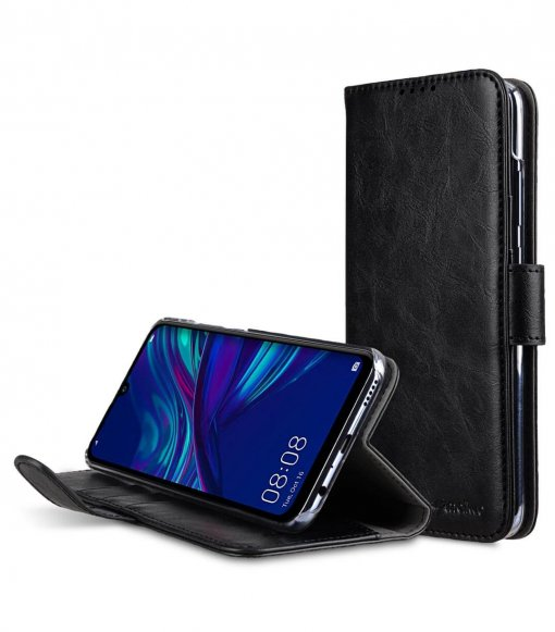 PU Leather Wallet Book Clear Type Stand Case for Huawei P Smart (2019)