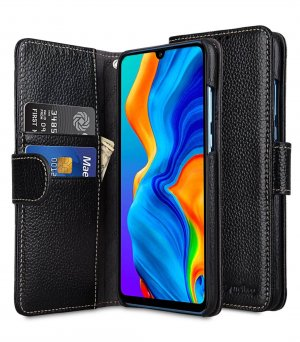 Premium Leather Wallet Book Type Case for Huawei P30 Lite
