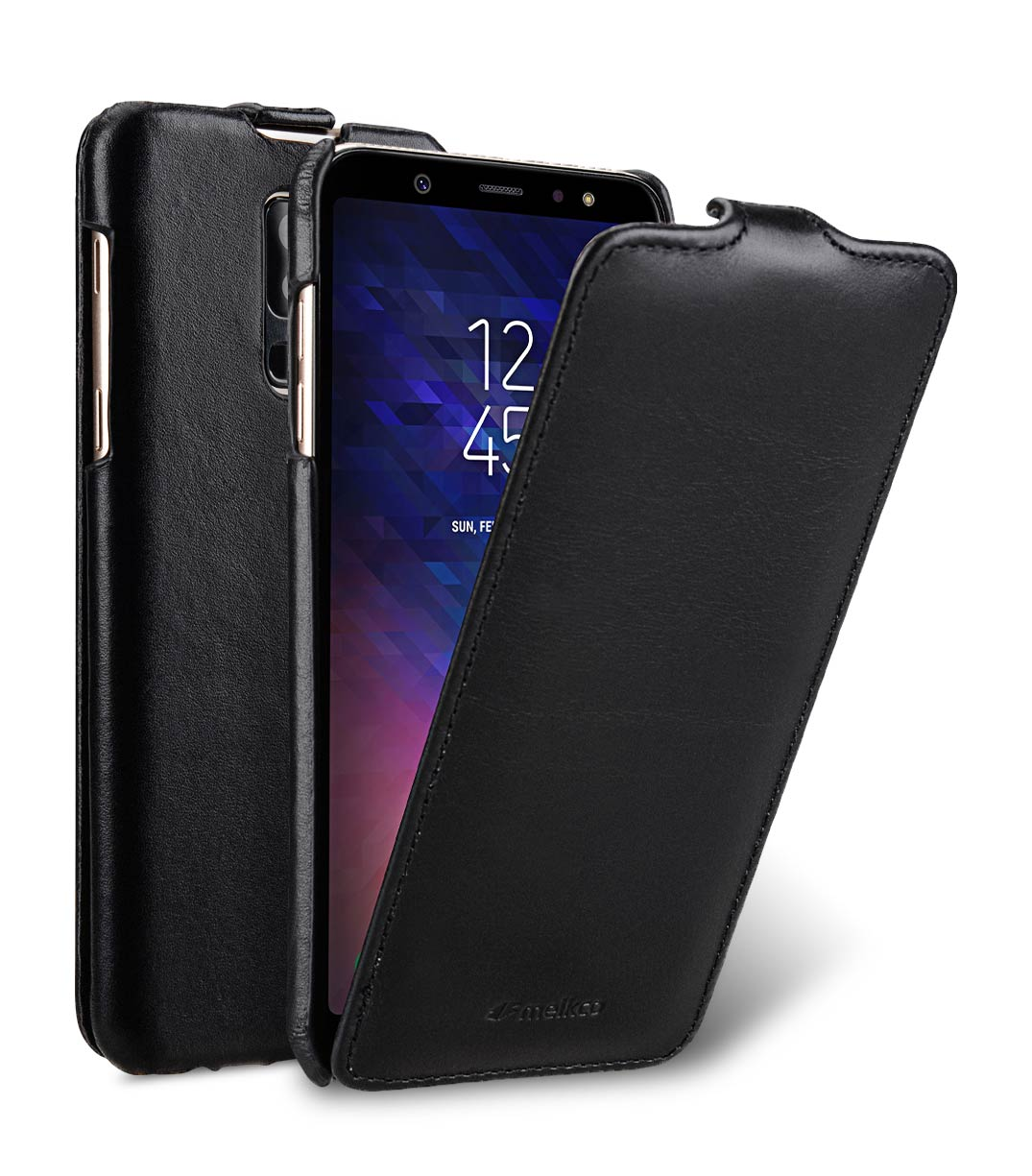 premium selection 77057 4f392 Premium Leather Case for Samsung Galaxy A6 Plus (2018) - Jacka Type