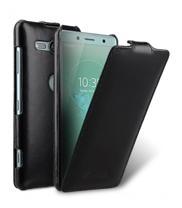 Premium Leather Case for Sony Xperia XZ2 Compact - Jacka Type