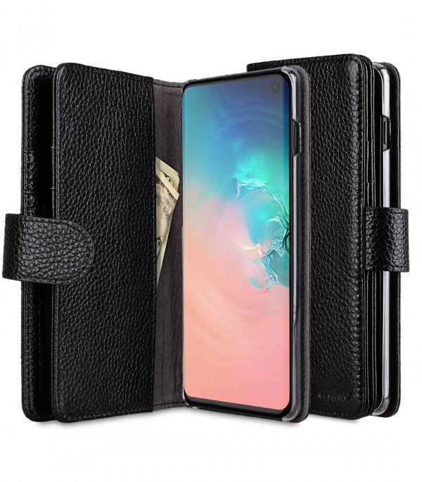 Premium Leather Wallet Plus Book Type Case for Samsung Galaxy S10