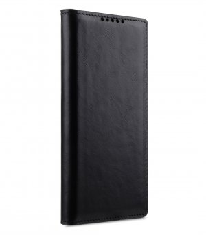 Premium Leather Klassiker Book Type Case for Samsung Galaxy Note 10
