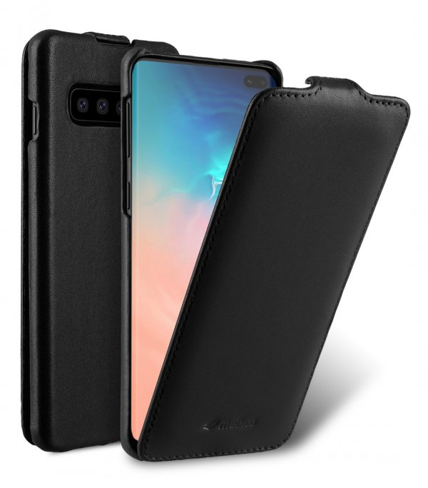 Premium Leather Jacka Type Case for Samsung Galaxy S10+