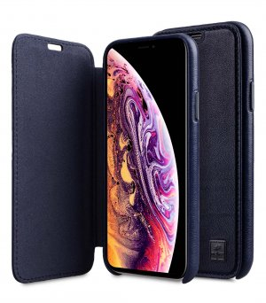 "Origin Series Premium Leather Regal Face Cover Case for Apple iPhone XI Max (6.5"")"