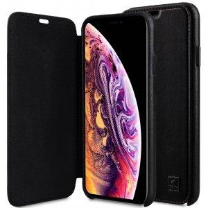 """Origin Series Premium Leather Regal Face Cover Case for Apple iPhone XS Max (6.5"""")"""