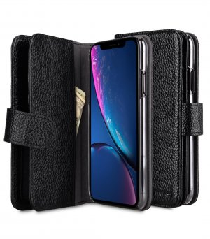 Premium Leather Wallet Plus Book Type Case for Apple iPhone XI Max