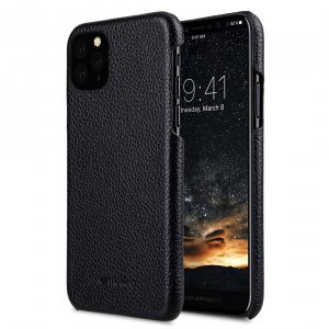 Premium Leather Snap Cover Case for Apple iPhone 11 Pro