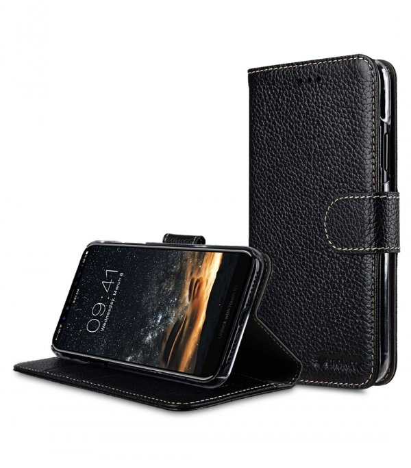 Premium Leather Wallet Book Clear Type Stand Case for Apple iPhone 11 Pro Max