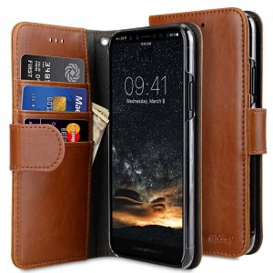 PU Leather Wallet Book Clear Type Case for Apple iPhone 11 Pro