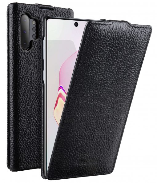 Premium Leather Jacka Type Case for Samsung Galaxy Note 10+